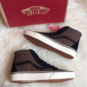 Vans Women's Glen Plaid SK8-HI Reissue sneakers